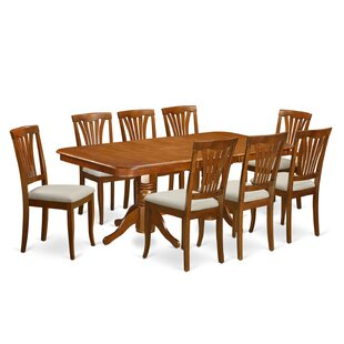 Pillsbury 9 Piece Wood Dining Set August Grove