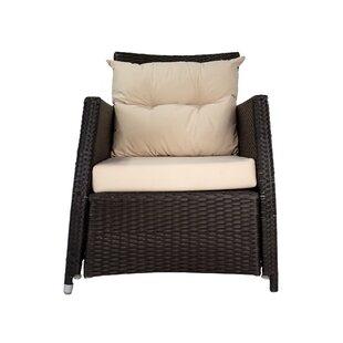 Longshore Tides Jimena Patio Chair with C..