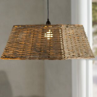 Janna 1-Light Rectangle Pendant by Longshore Tides