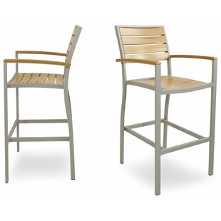 Loft Bar Arm Chair Set (Set Of 2) by Ivy Terrace Cheap
