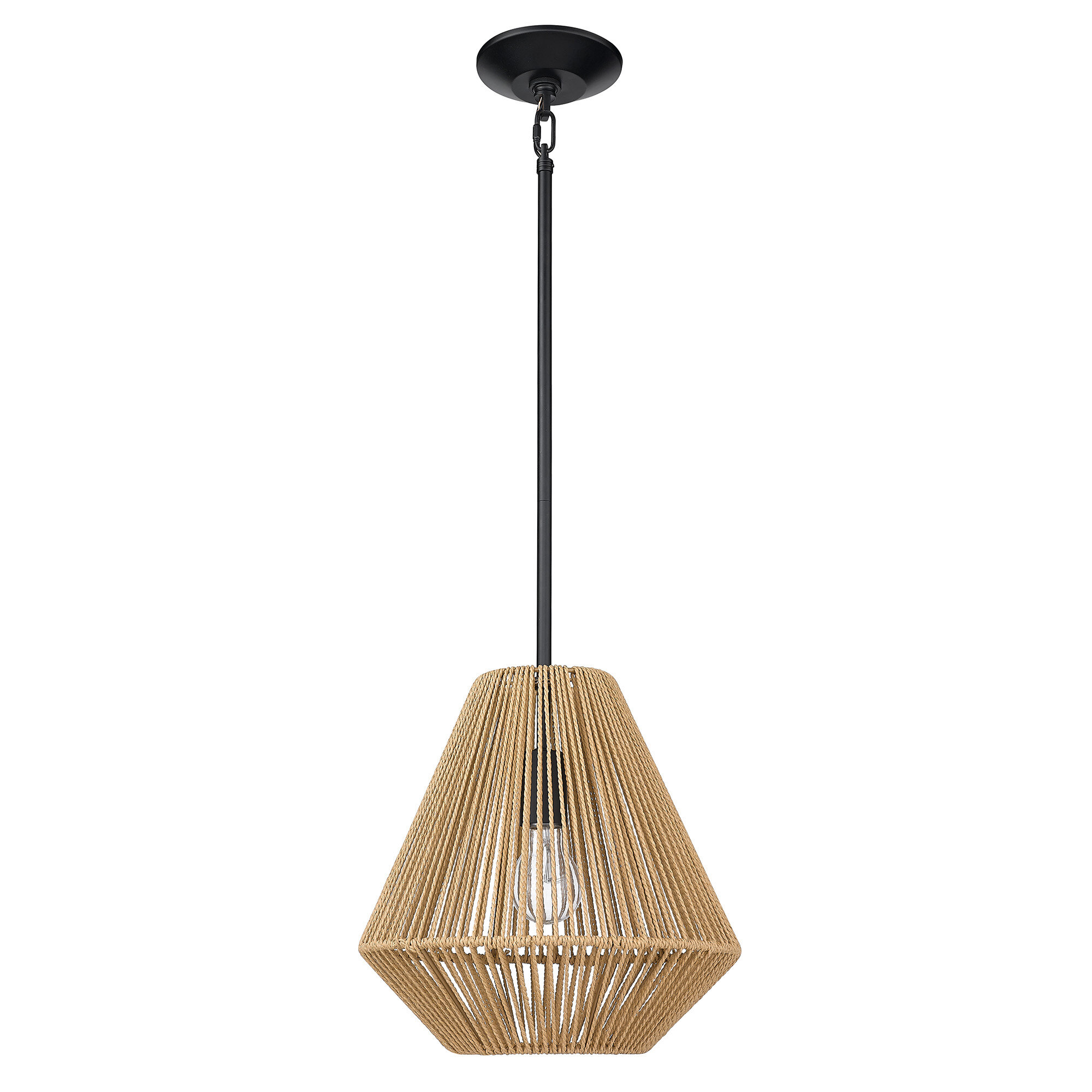 Abrams 1 Light Single Geometric Pendant Reviews Joss Main