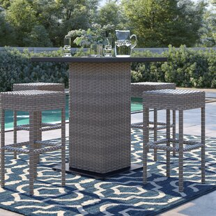Rockport 5 Piece Bar Height Dining Set by Sol 72 Outdoor