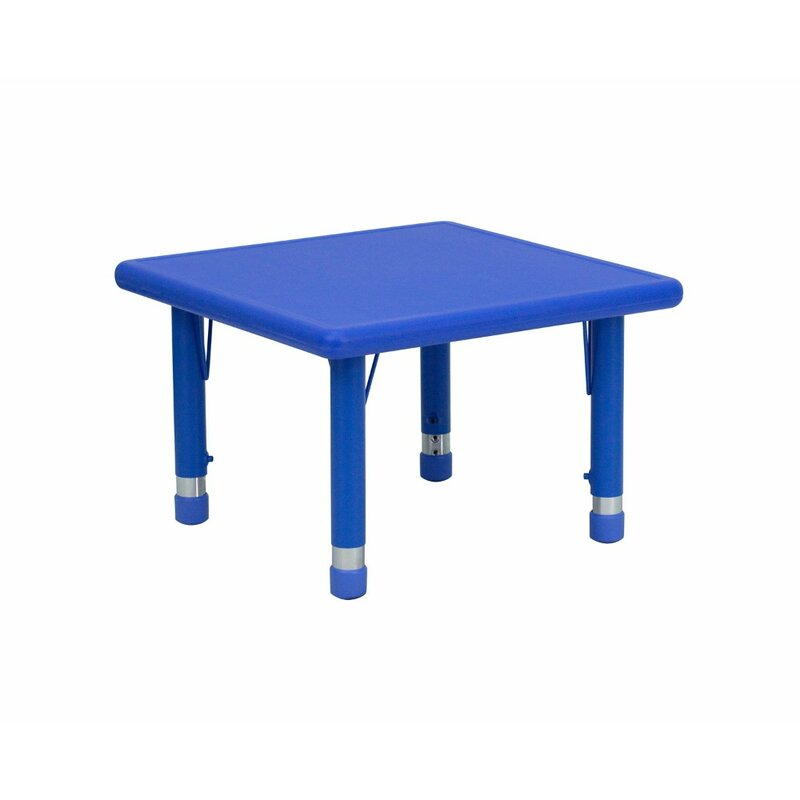 Kids Plastic Activity Table Design Ideas