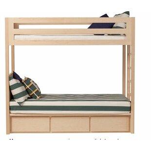 Orren Ellis Kadon Twin over Twin Bunk Bed with Storage