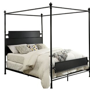 Kratochvil Metal Canopy Bed By Gracie Oaks