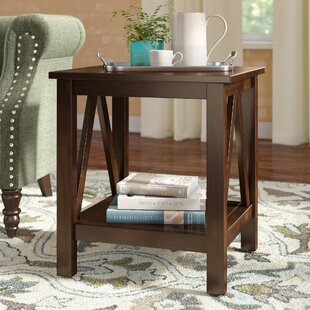 Compare prices Brassiewood End Table By Three Posts