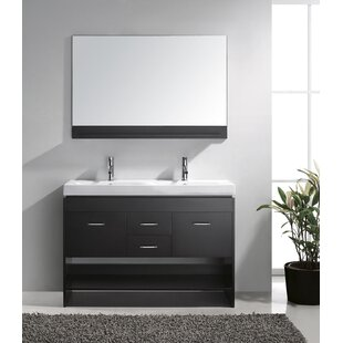 48 Double Bathroom Vanity Base