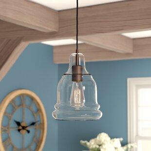 Rafaello Edison 1-Light Bell Pendant by Birch Lane? Heritage