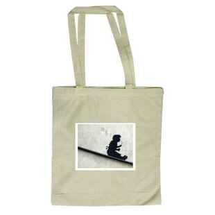 Bubble Girl Tote Bag By East Urban Home