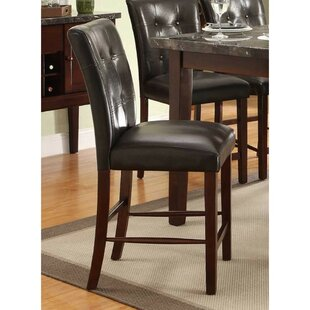 Heise Upholstered Bar Stool (Set Of 2) by Red Barrel Studio Read Reviews