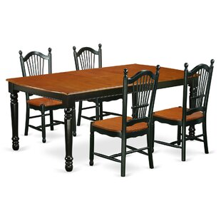 Pimentel Modern 5 Piece Dining Set August Grove