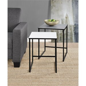 Caddell 2 Piece Nesting Tables