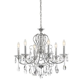 Kichler Jules 6-Light Candle Style Chandelier