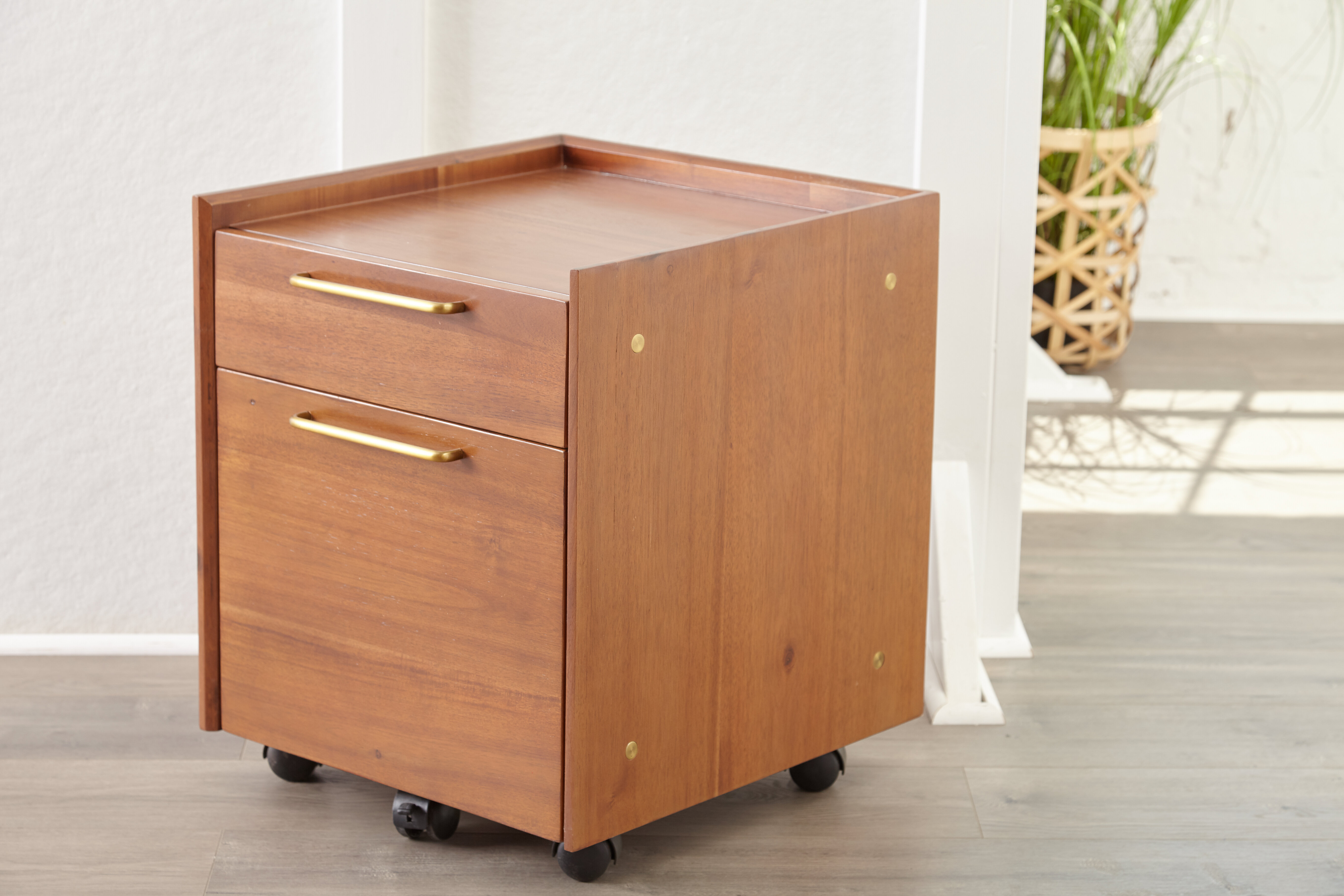 Picture of: Moffitt 2 Drawer Mobile Vertical Filing Cabinet
