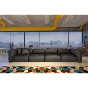 Samiyah Leather Sectional by Brayden Studio Find
