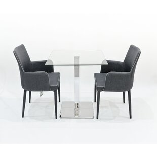 Free Shipping Derose Dining Set With 2 Chairs