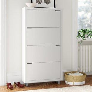 Shoe Storage Cabinet By Symple Stuff