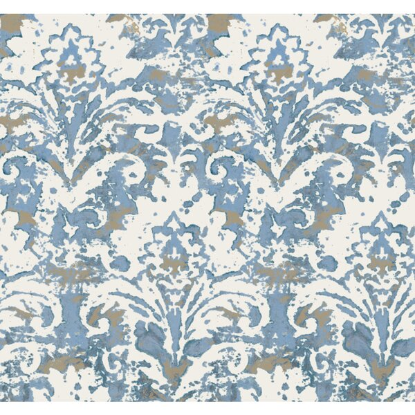 Photo Batik 27' L x 27 W Wallpaper Roll byYork Wallcoverings