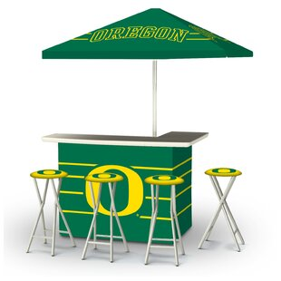 Best of Times 5 Piece University of Oregon Bar Set