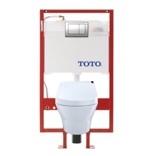 Toto MH Connect Dual Flush D-Shape Wall Hung Toilet with Tornado Flush