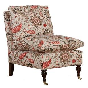 Britta Slipper Chair by Klaussner Furniture