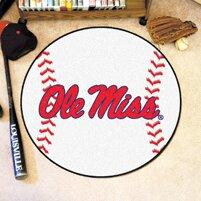 NCAA University of Mississippi (Ole Miss) Baseball Mat By FANMATS