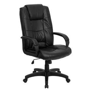 Genuine Leather Executive Chair by Offex Comparison