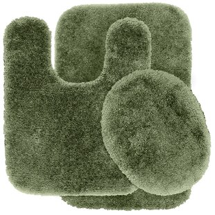 Deyor Bath Rug Set (Set of 3)