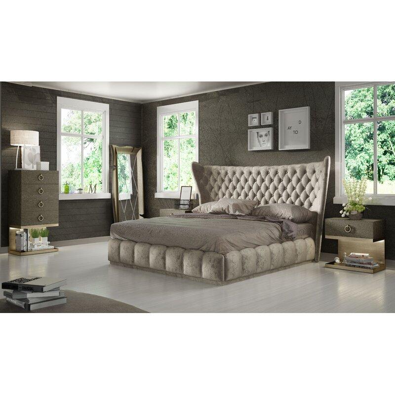 Hispania Home London King 3 Piece Bedroom Set Wayfair