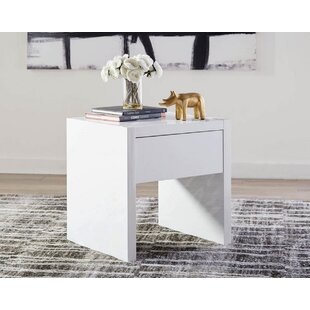 Orren Ellis Stilwell End Table with Storage