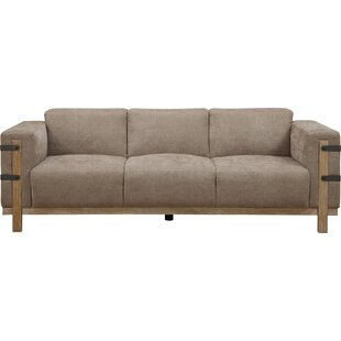 Passabe Rustic Sofa by Loon Peak