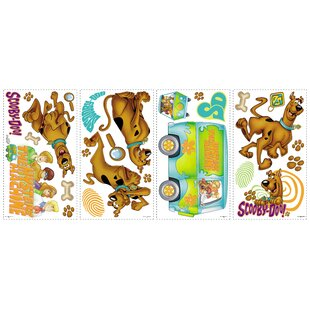 Room Mates Deco Scooby Doo Wall Decal by Room Mates