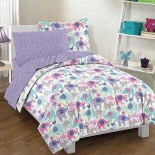 Elley Elephant Comforter Set