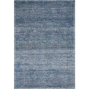Weston Hand Tufted Blue Rug by Longweave