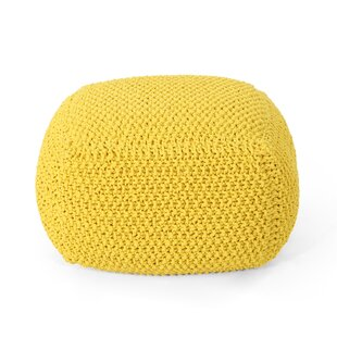 Groner Knitted Pouf
