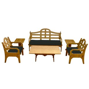 Burliegh 6 Piece Sofa Set with Cushions