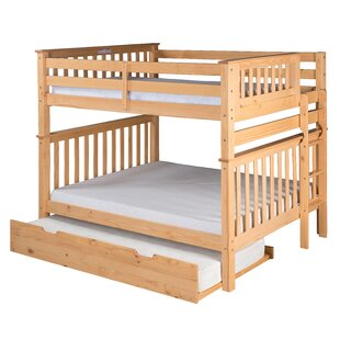 Online Reviews Lindy Mission Tall Bunk Bed with Trundle by Harriet Bee Reviews (2019) & Buyer's Guide