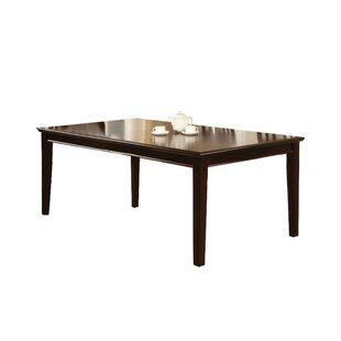 Angelica Solid Wood Dining Table Charlton Home