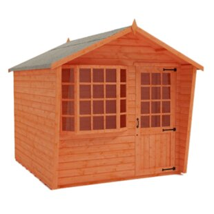 Spring Bay 10 X 8 Ft. Shiplap Summer House By Tiger Sheds