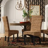 Jim Side Chair in Rattan Abaca (Set of 2)