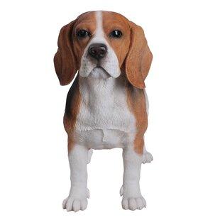 Standing Beagle Dog Figurine