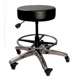 Pneumatic Adjustable Height Lab Stool