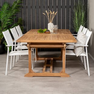 Baek 6 Seater Dining Set By Sol 72 Outdoor