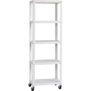 Industrial Modern Etagere Bookcase by Hirsh Industries
