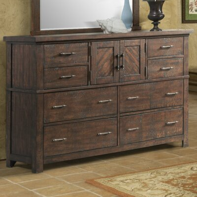 Ismay 8 Drawer Combo Dresser