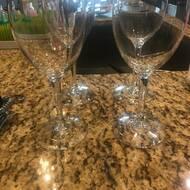 Charlton Home Eckert 12 Oz Glass Goblet Reviews Wayfair