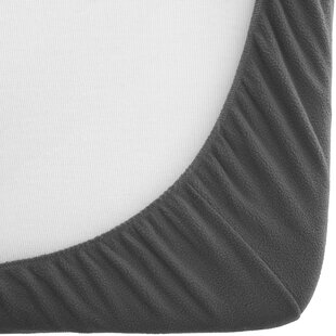 Fitted Bottom Hypoallergenic Deep Pocket Ultra Soft Micro Fleece Sheet by Bare Home #2