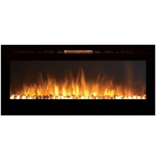 DeMotte Wall Mounted Electric Fireplace by Ivy Bronx