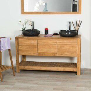 Leatherhead 140mm Free-standing Double Vanity Unit By Bay Isle Home