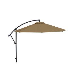 Blue Wave Products Santiago 10' Cantilever Sunbrella Umbrella